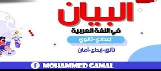 إختبارين الكترونيين علي الوحدة الأولى والثانية لغة عربية ثانوية عامة نظام جديد 2021