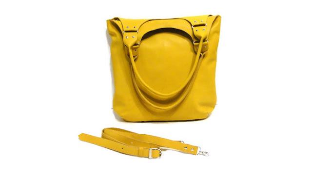 Сумка женская желтая: через плечо, через тело, под мышкой. Натуральная кожа, подкладка - натуральный хлопок. Доставка курьером или почтой