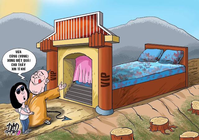 Yêu cầu Giáo hội Phật giáo tỉnh Vĩnh Phúc điều tra tên sư trọc hổ mang