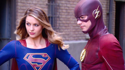 supergirl,flash