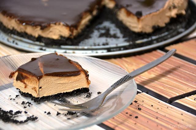 Vegan-chocolate-nutella-cheesecake