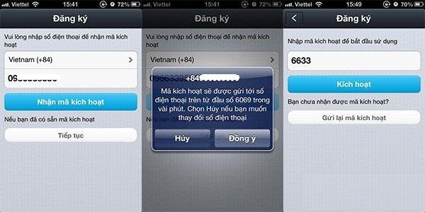 Hướng dẫn cài đặt zalo cho iphone