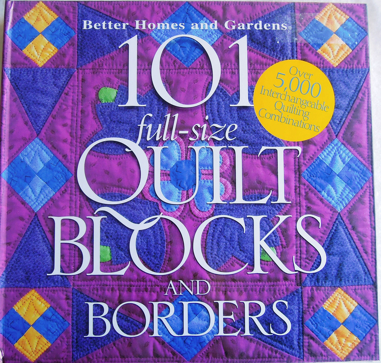 Only $4.99!  101 Quilt Blocks and Borders (click!)