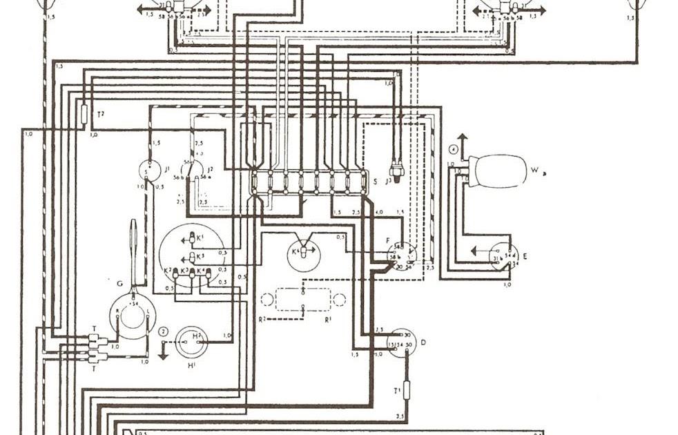 Eltrica VW AR Esquema eltrico fusca completo mecanica