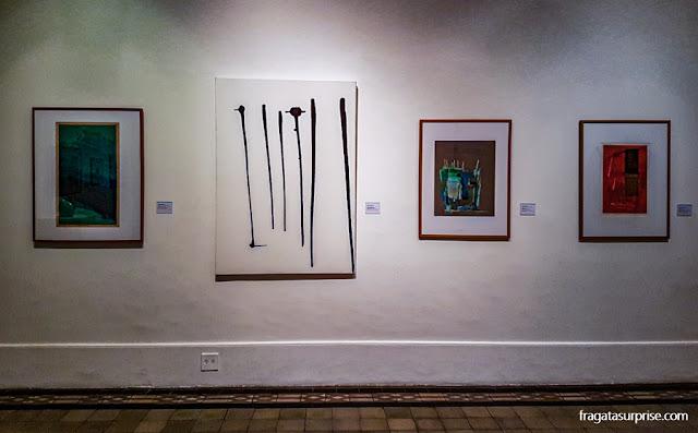 Obras de artistas modernos no MNBA
