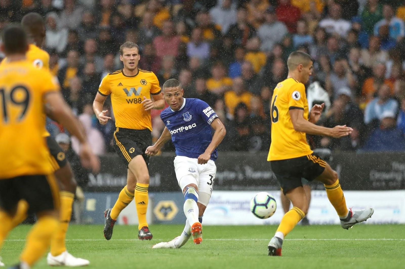 نتيجة مباراة ايفرتون وولفرهامبتون بتاريخ 01-09-2019 الدوري الانجليزي