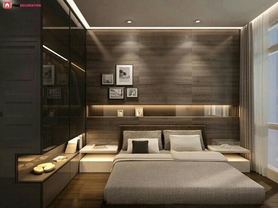 Best dark bedroom designs pictures