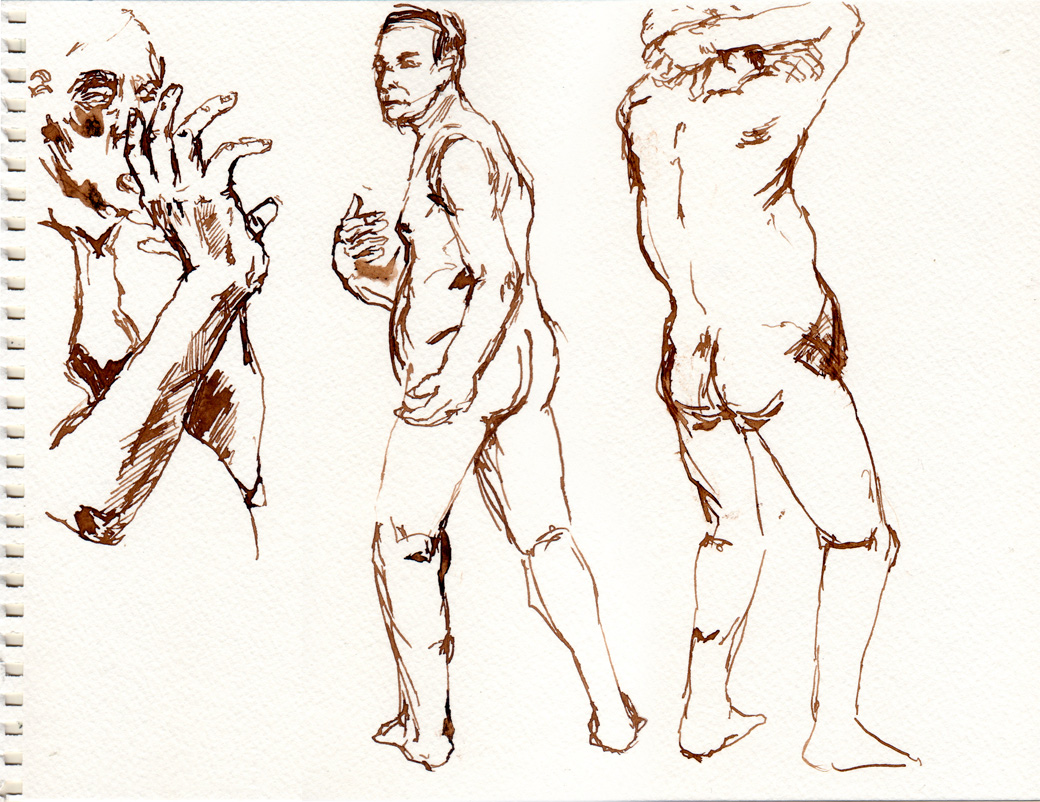 Life Drawing Page Four (2009)