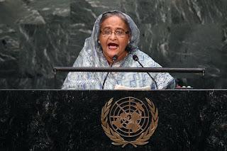 Perdana Menteri Bangladesh, Hasina Wajed. - Foto/AFP