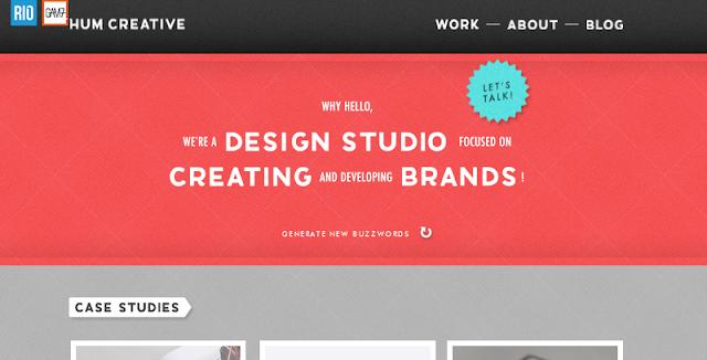 xu thế thiết kế web tập trung nhiều vào typography