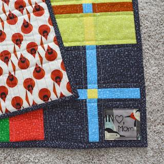 cozy birdhouse | plaidish quilt