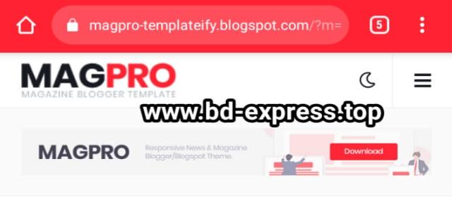 Mag Pro Premium Blogger Template Free Download - premium blogger template download _bd-express.top