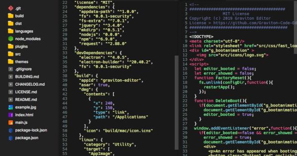 Linux dicas e suporte: Editor de código Graviton no GNU/Linux