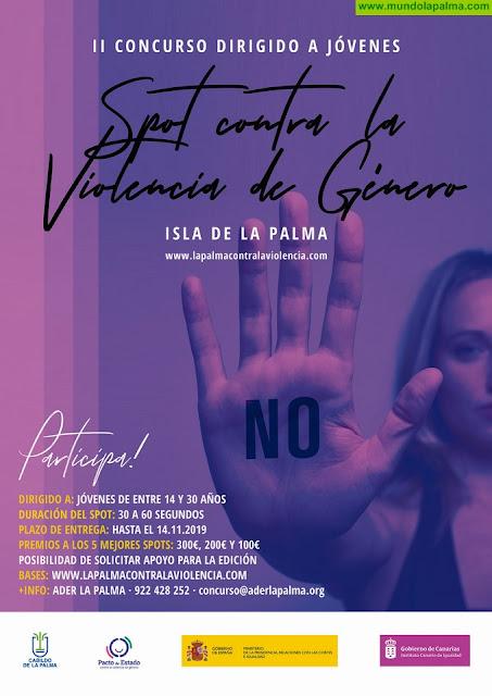 La Palma promueve un concurso audiovisual juvenil para sensibilizar y mostrar el rechazo a la violencia de género