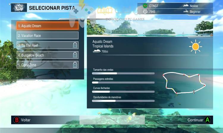 تحميل لعبة الموتوسيكلات المائية Aqua Moto Racing Utopia للكمبيوتر
