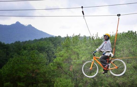 Rute,,Pesona Wisata Brujul Adventur Park Pejagoan Kebumen