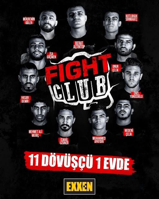 FIGHT CLUB EXXEN 11 DÖVÜŞÇÜ 1 EVDE