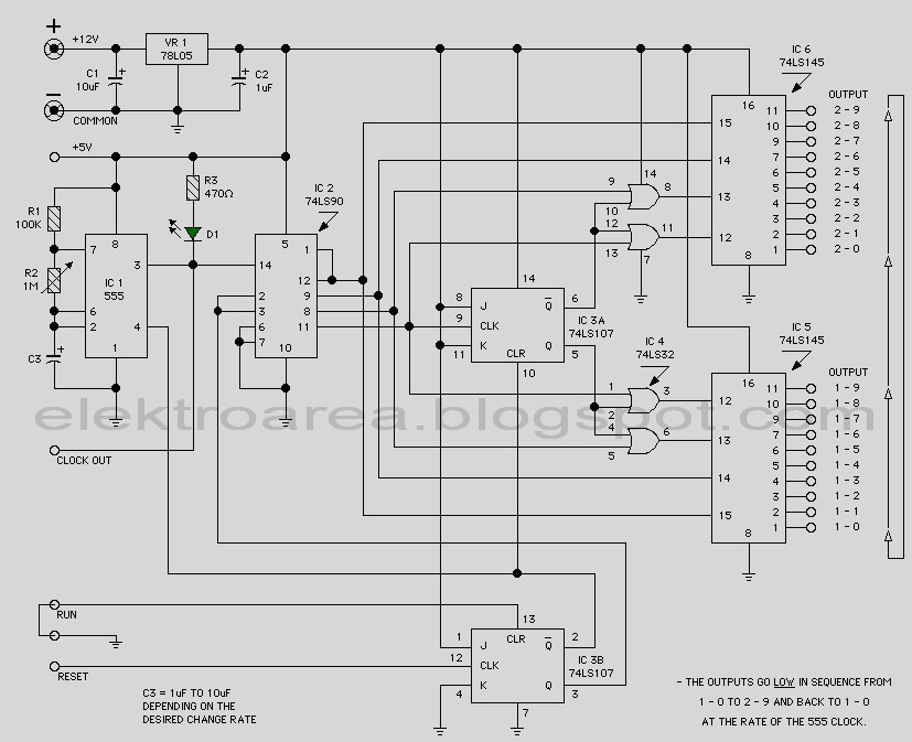 schematic  u0026 wiring diagram  traffic light 20 chanel based
