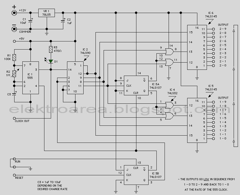 traffic light wiring schematic