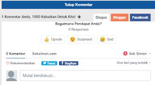 3 Cara Menghilangkan Kolom Komentar di Blogspot dan Template Kompiajaib