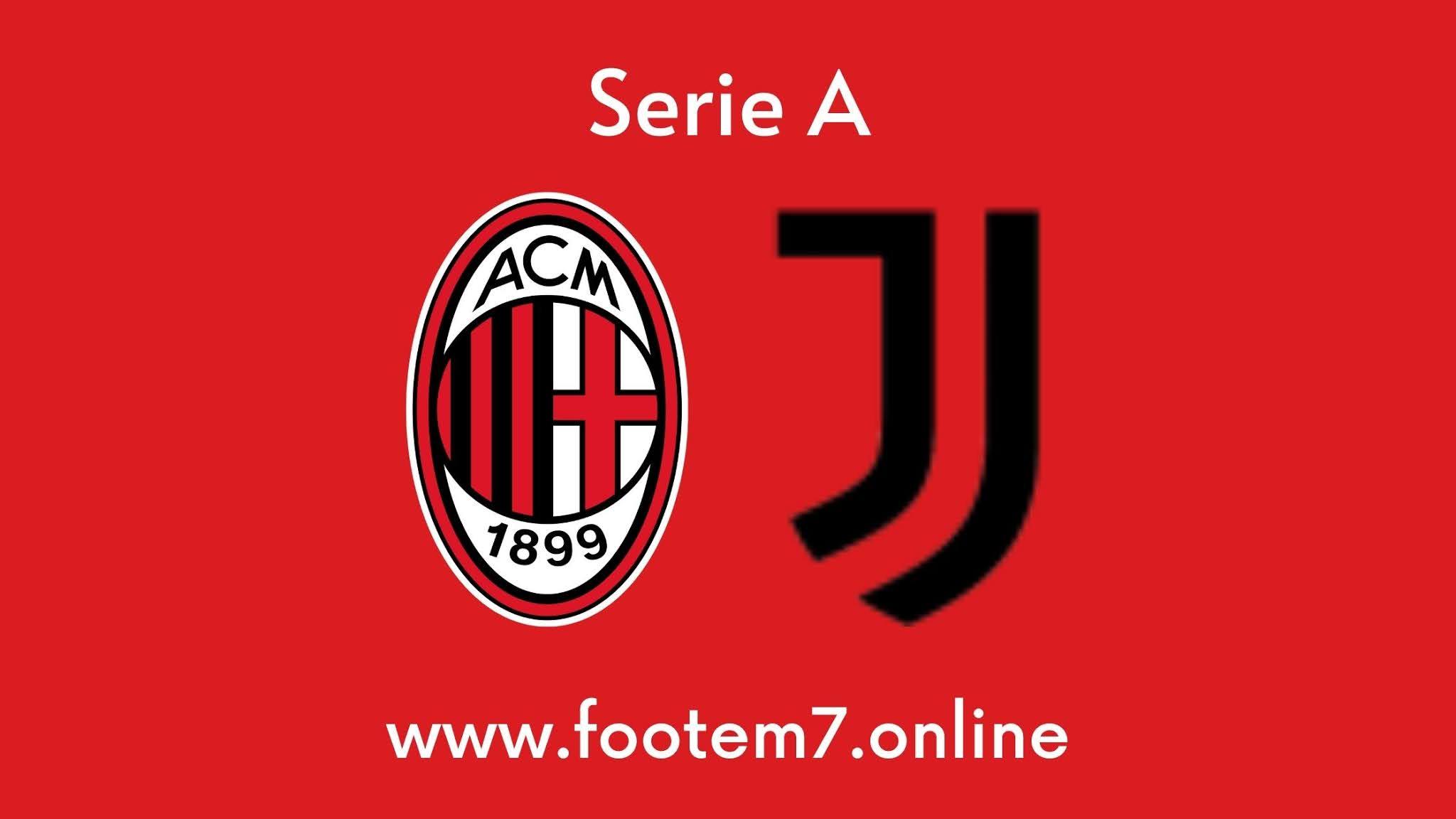 Juventus vs AC Milan round 35