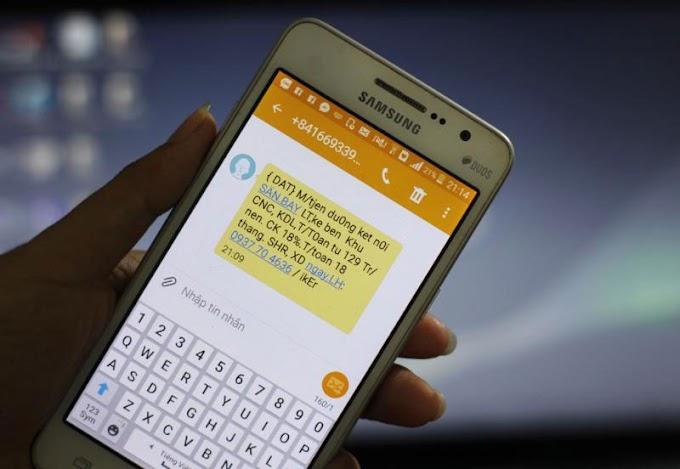 Cách xử lý tin nhắn rác, cuộc gọi tiếp thị qua điện thoại