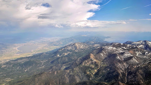 Washoe Lake, Slide, Mt. Rose, and Lake Tahoe