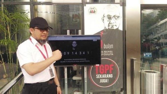 Update, Dinonaktifkan Pimpinan KPK, Novel Baswedan dkk Melawan
