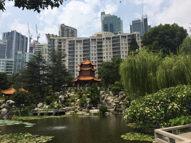 A RELAXING WEEKEND IN THE CHINESE GARDEN OF FRIENDSHIP