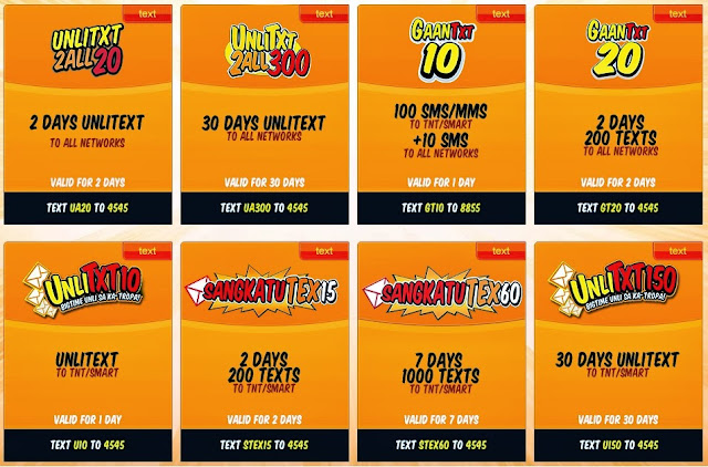 TNT SMART Promos Call Text with Internet Data