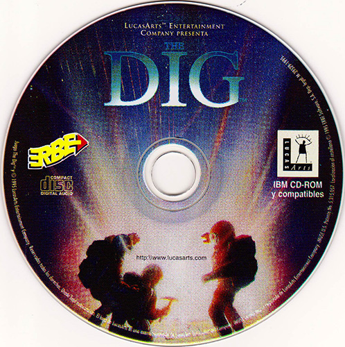 The Dig PC CD