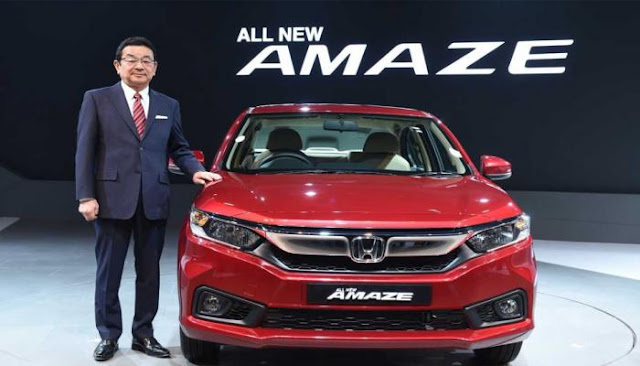 All New-Gen 2018 Honda Amaze launching event pics