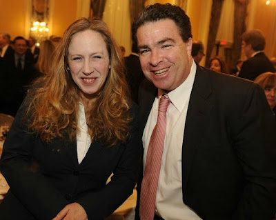 Kimberley Strassel with her friend