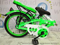 16 Inch Evergreen Maximus Kids Folding Bike