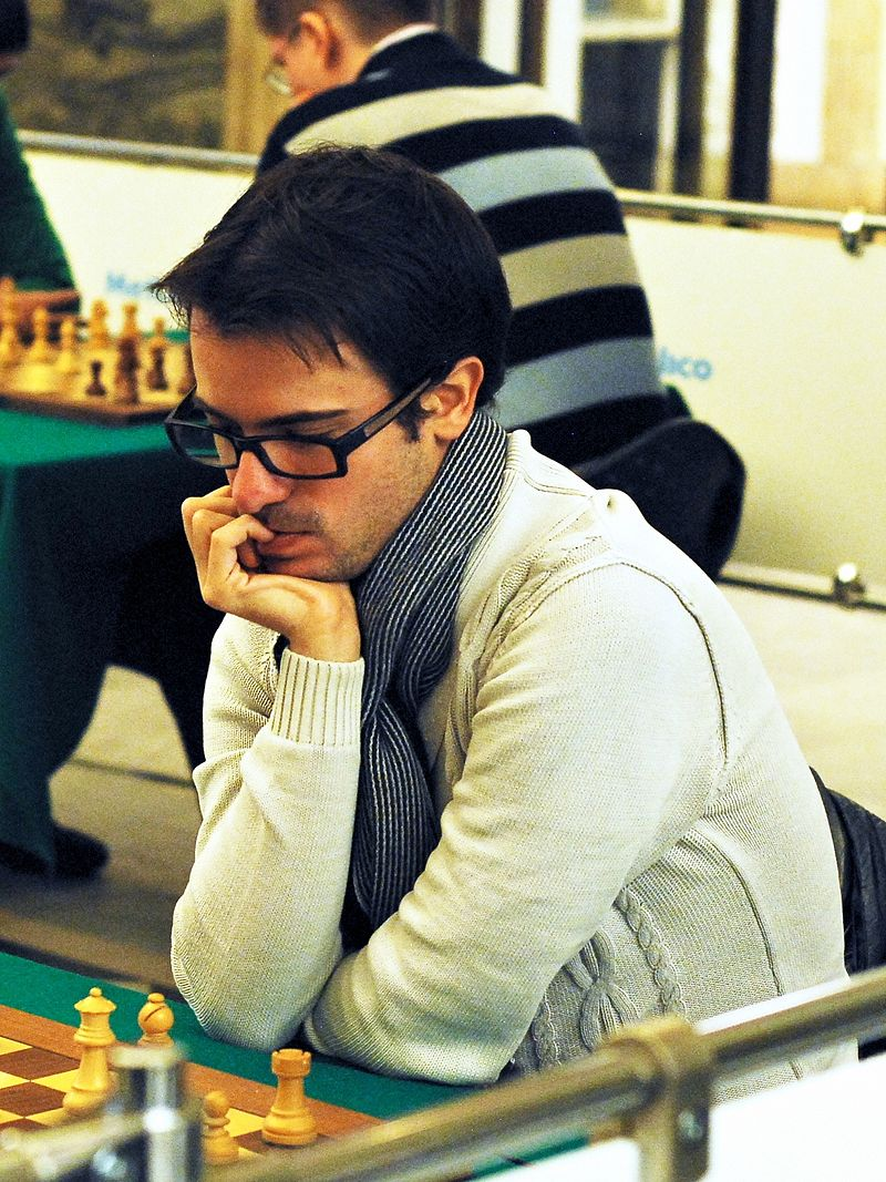 Le grand-maître d'échecs Romain Edouard © Chess & Strategy