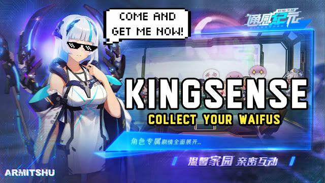 Kingsense jrpg online mobile game