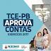 Por unanimidade, TCE-PB aprova contas 2017 de Pilõezinhos