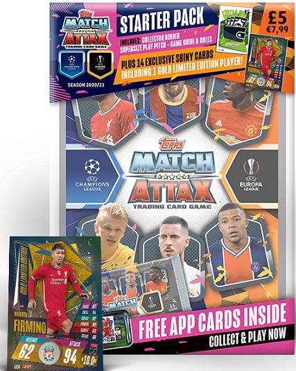 Match Attax 2020//21 Liga de Campeones 2020//2021 Edición Limitada armadas LE10G