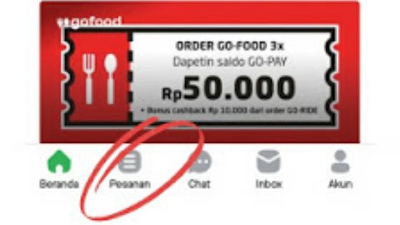 cara cancel order gojek