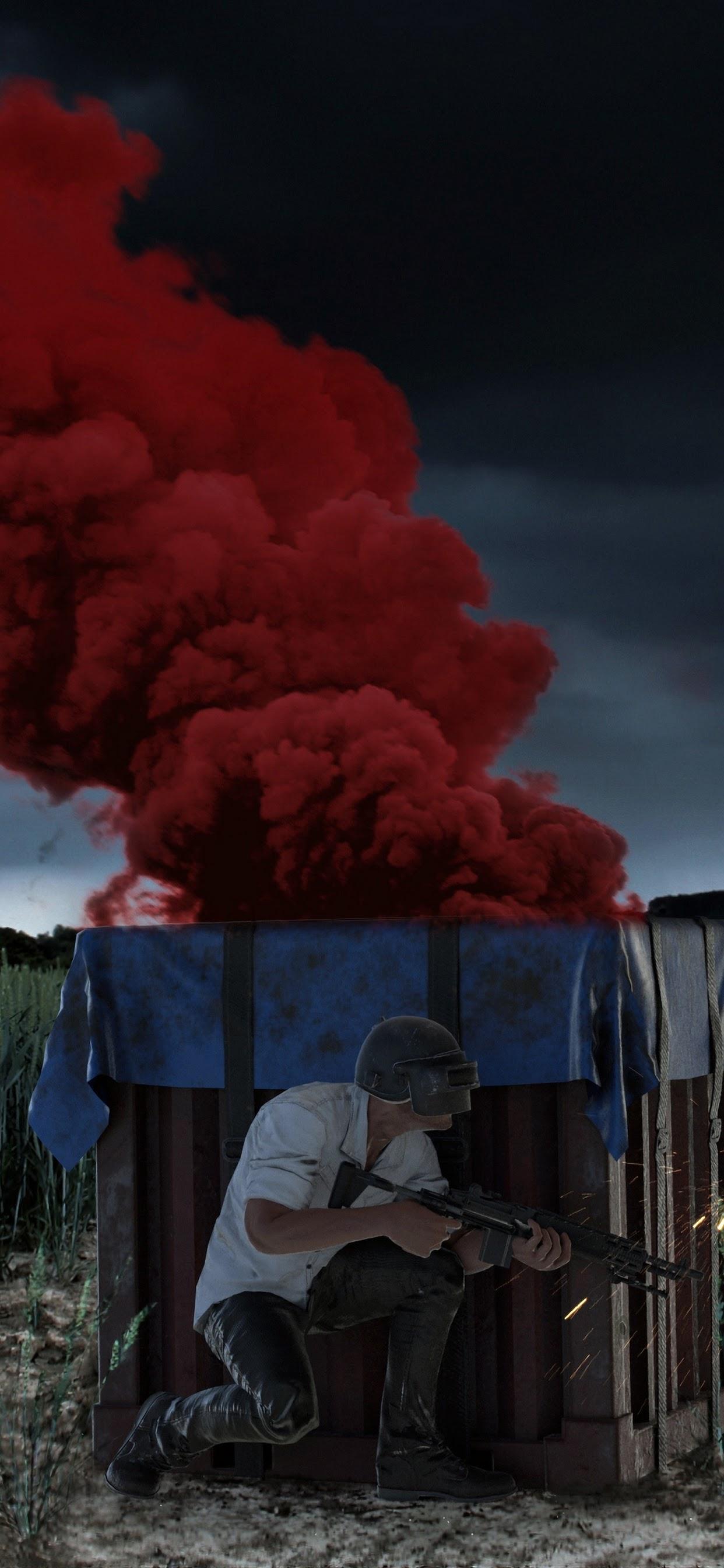Pubg Air Drop Package Smoke Playerunknown S Battlegrounds 4k Wallpaper 56