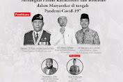 Mayjend TNI (Purn) Hartin Asrin Isi Diskusi Online IKAP PP Al-Fiqoriah  Bogor.