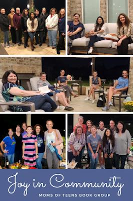 Joy of Community - Moms of Teens Book Group
