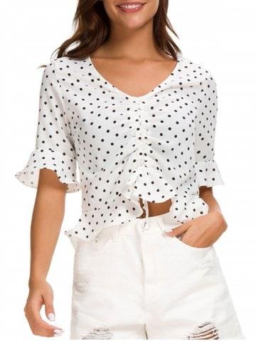 https://www.rosegal.com/blouses/ruffle-hemline-polka-dot-print-crop-top-2270343.html?lkid=14886826
