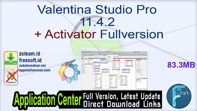 Valentina Studio Pro 11.4.2 + Activator Fullversion