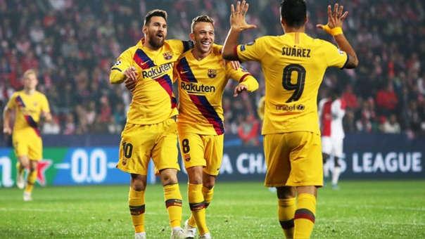 Como ver Barcelona vs Slavia Praga EN VIVO