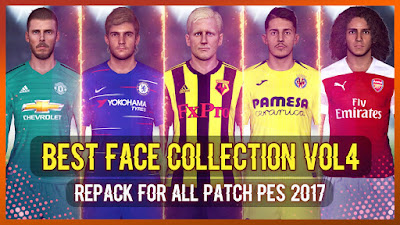 PES 2017 Best Facepack Collection by Rean Tech Vol 4