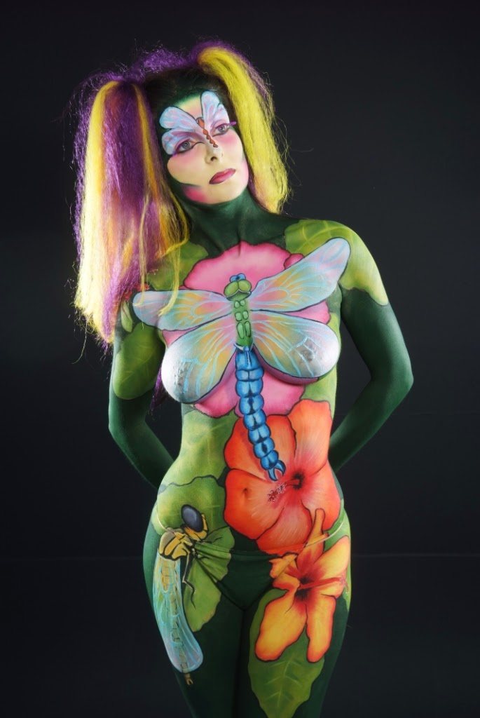 Full Body Painting Art And Craft Projects