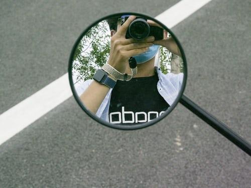 Mirror photoshoot ideas