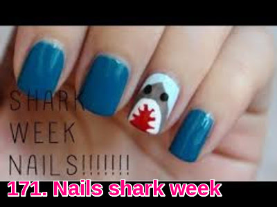 Nails shark week