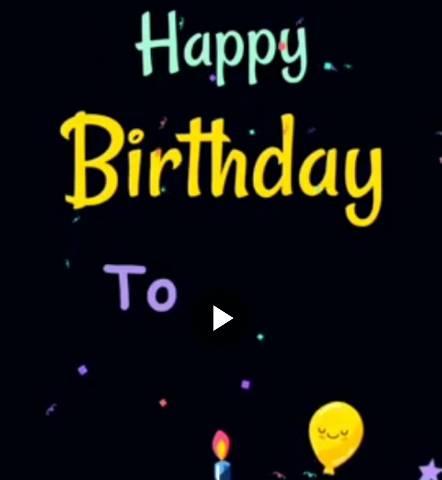 Best Happy Birthday Whatsapp Status Video Download For Whatsapp
